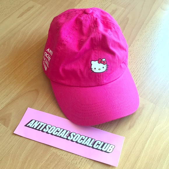8059c347a Anti Social Social Club Accessories | X Hello Kitty Hat | Poshmark